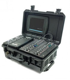 MDC-22 Rugged, Portable Data Centre front view