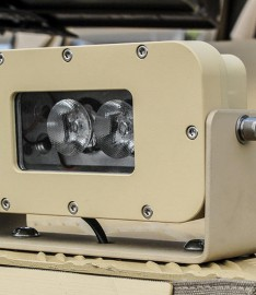 C-NITE IR Light mounted on vehicle
